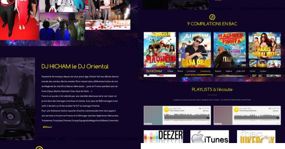site dj hicham
